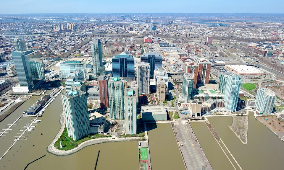 Jersey City Aerial View