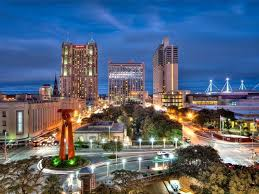 The picture of San Antonio. A view from the height.
