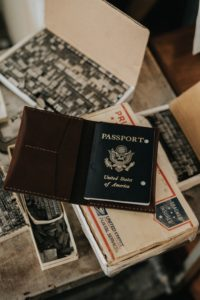 passport of the USA
