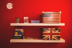 American themed boxes