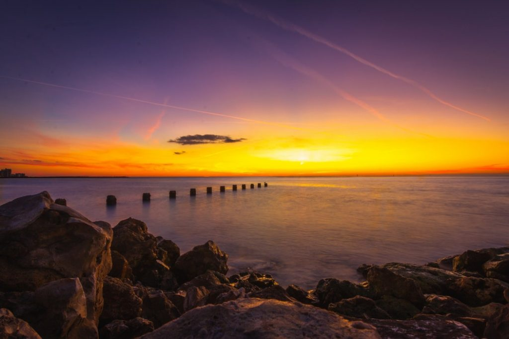 Enjoy that perfect sunset afet buying a condo in Florida