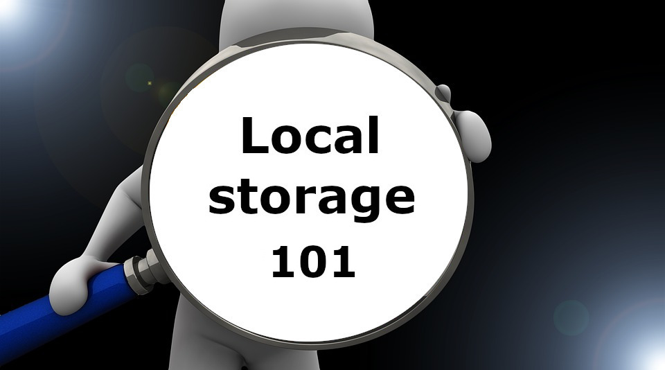 Finding local storage 101