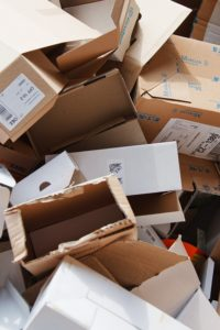 empty cardboard boxes which can be used for packing during a long distance relocation