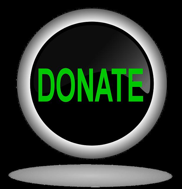 """A """"donate"""" button"""