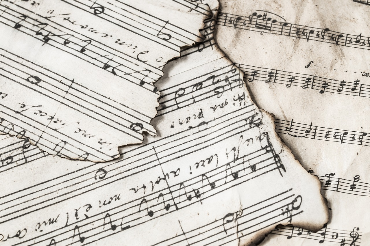 Some musical notes.