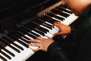 A piano player.