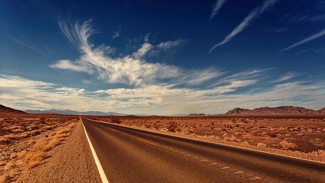 Nevada road.