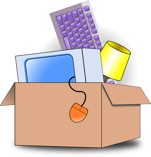 A box you pack first when moving.
