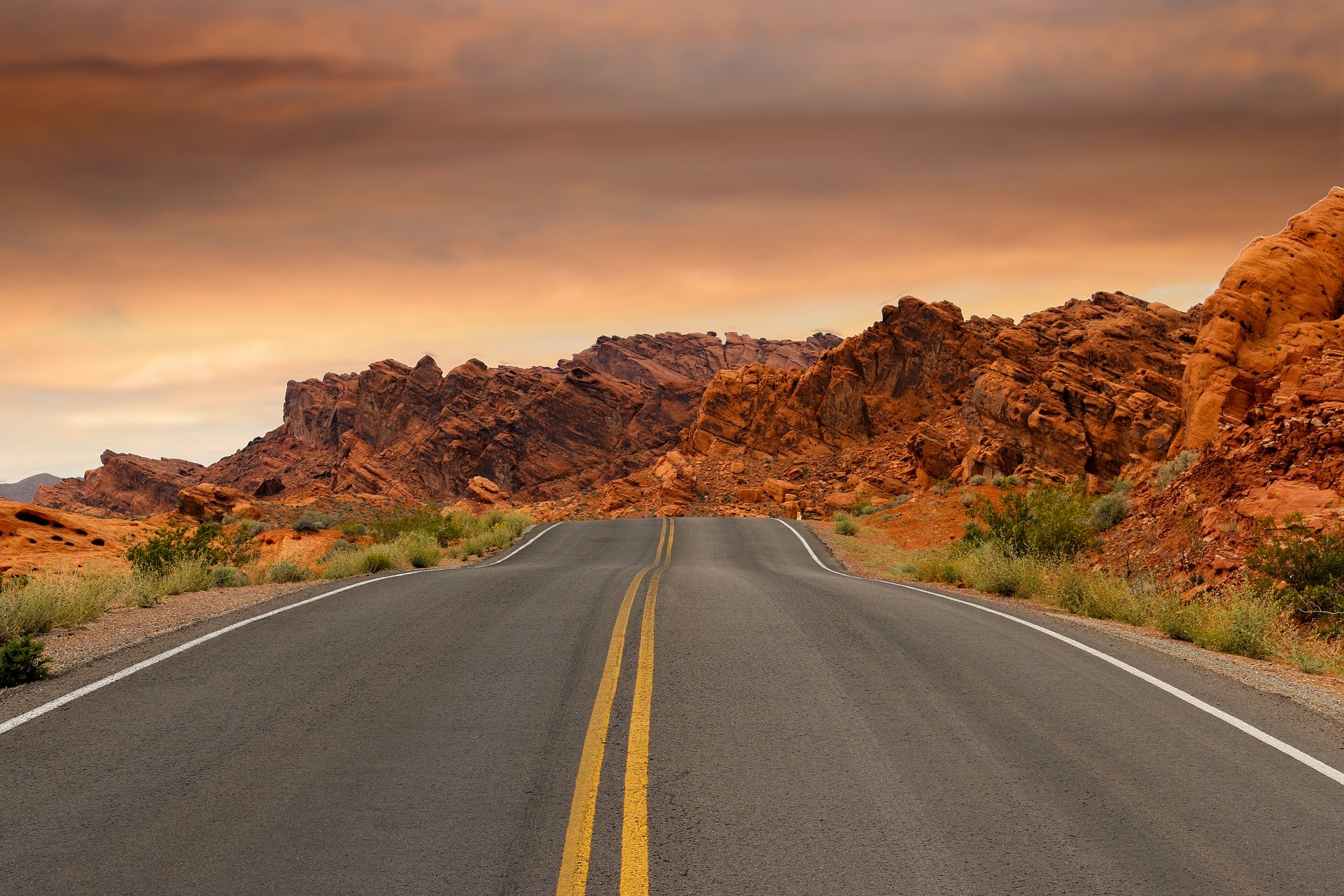 A road to Nevada.