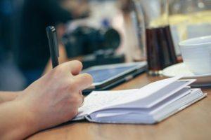 Notebook Pencil Desk