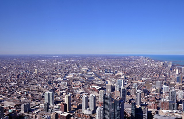 A view of Willis Tower.