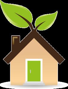 A green house.