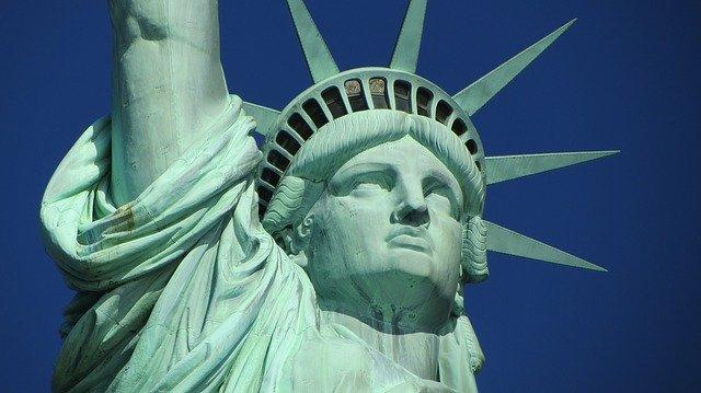 Statue of liberty, New York.