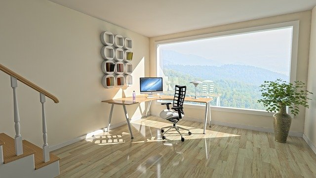 A home office arranged according to the modern design ides for your Davie home office