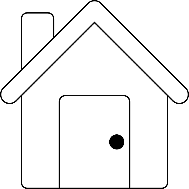 Drawing of a house.
