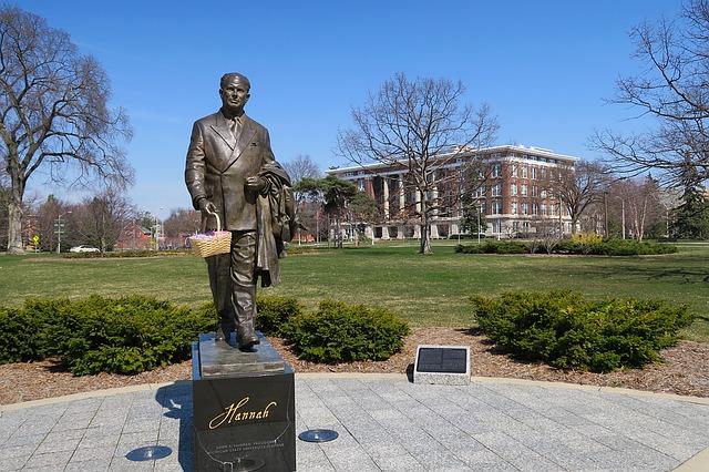 Sculpture in Michigan University
