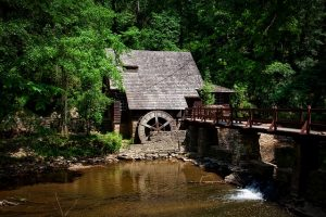Old Mill on the river