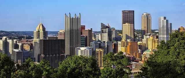 Pittsburg PA panorama.