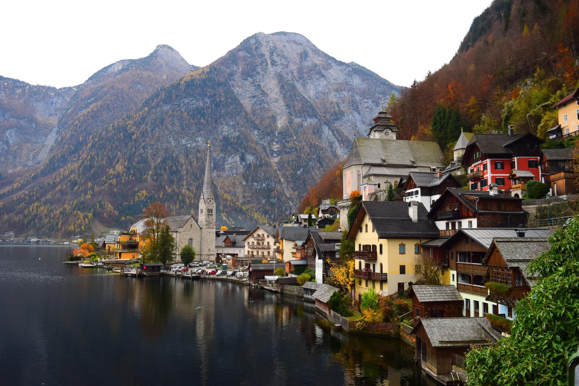 An idyllic Austrian village