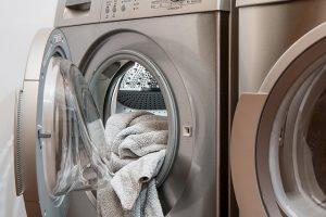 Washing Machine Laundry - Preparing kids' clothes for storage