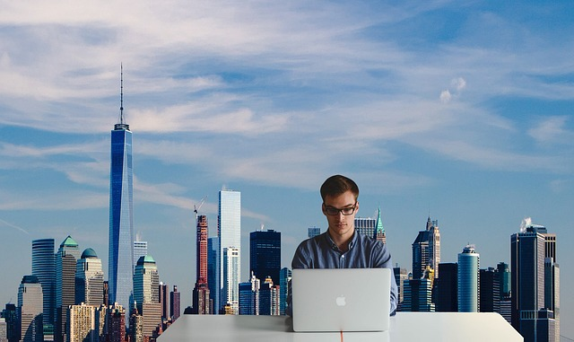 Man is searching for one of the best New York cities for start up companies.