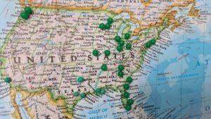 an American map